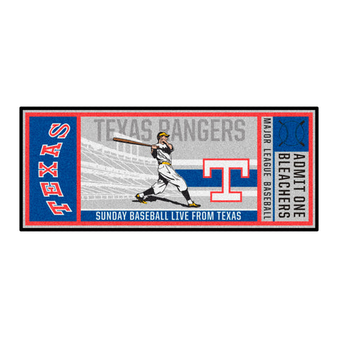 Retro Collection - 1984 Texas Rangers Ticket Runner