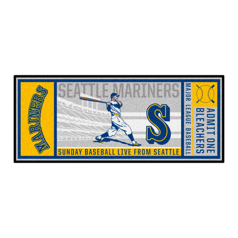 Retro Collection - 1989 Seattle Mariners Ticket Runner