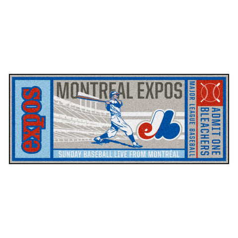 Retro Collection - 1990 Montreal Expos Ticket Runner