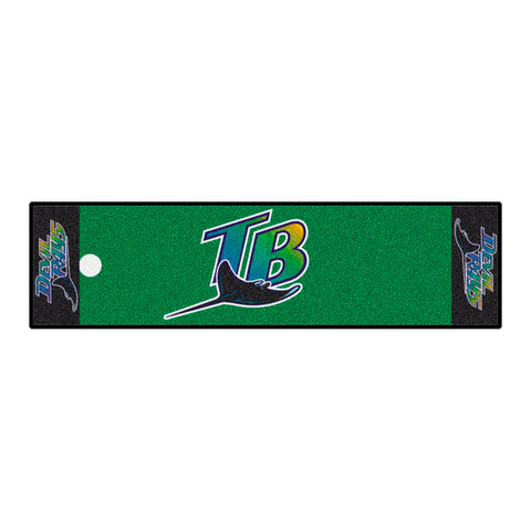 Retro Collection - 1998 Tampa Ray Devil Rays Putting Green Mat