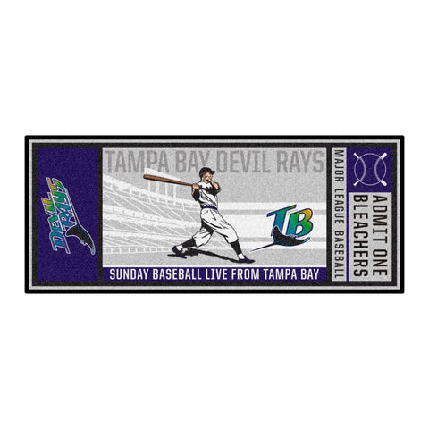 Retro Collection - 1998 Tampa Ray Devil Rays Ticket Runner