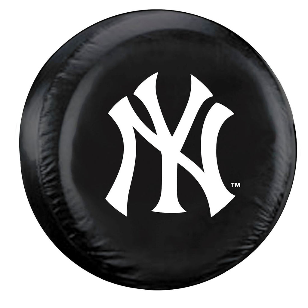 New York Yankees Tire Cover Large Size Black