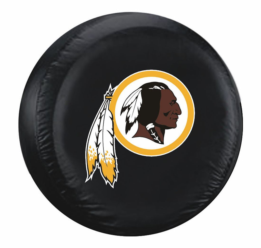 Washington Redskins Black Tire Cover - Size Large