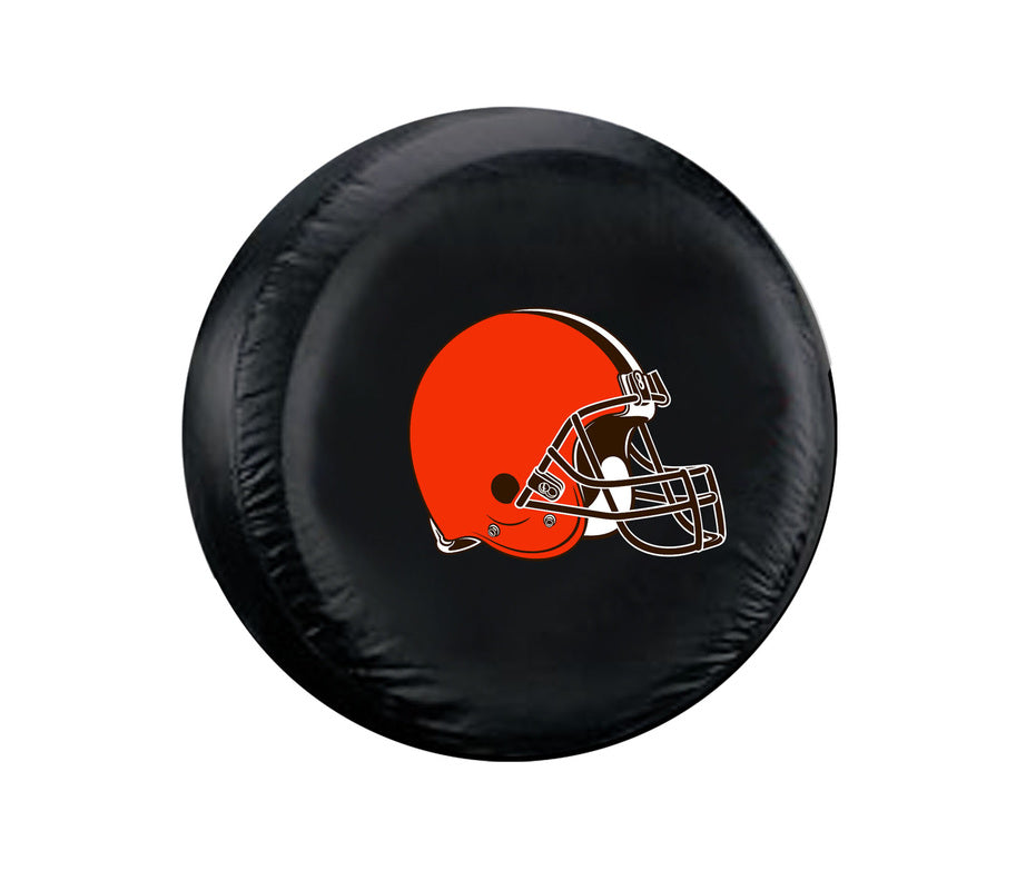 Cleveland Browns Black Tire Cover - Standard Size - New Logo