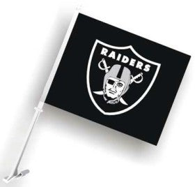 Las Vegas Raiders Car Flag