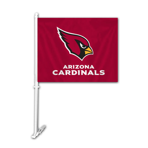 Arizona Cardinals Car Flag - Special Order