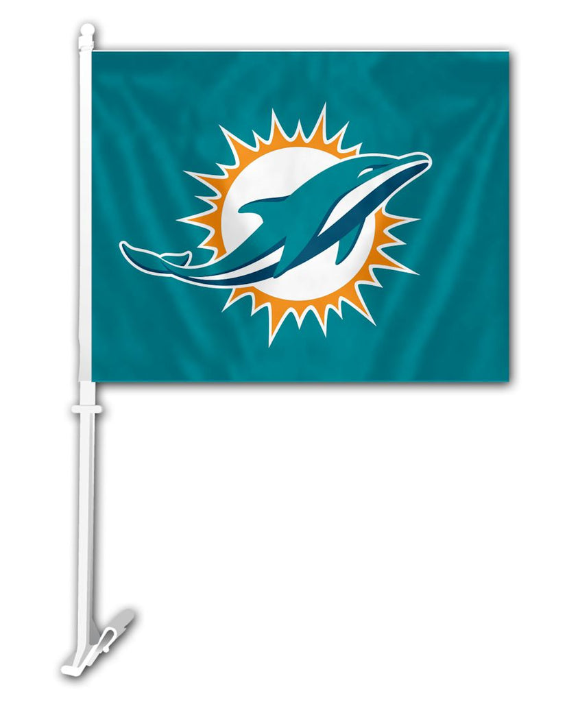 Miami Dolphins Car Flag