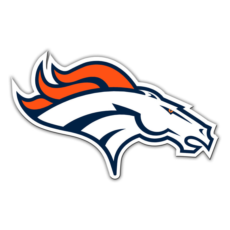 "Denver Broncos Car Magnet - 12"" Logo - Right"
