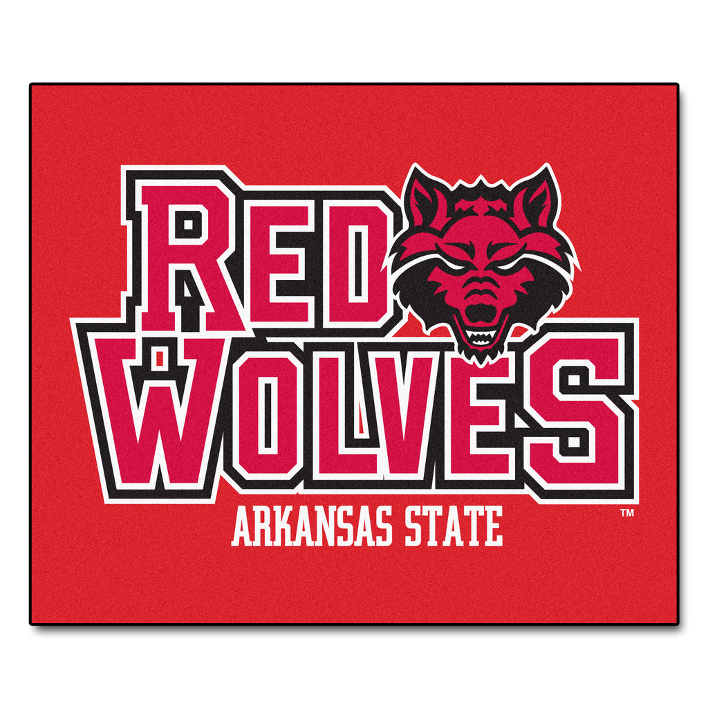 "Arkansas State University Tailgater Mat 59.5""x71"""