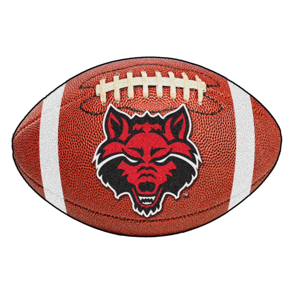"Arkansas State University Football Mat 20.5""x32.5"""