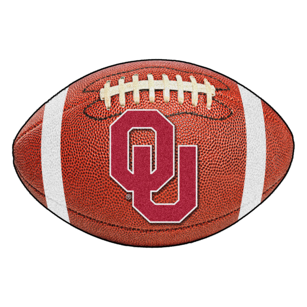 "University of Oklahoma Football Mat 20.5""x32.5"""