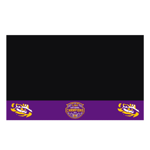 "LSU 2019-20 National Champions Grill Mat 26""x42"""