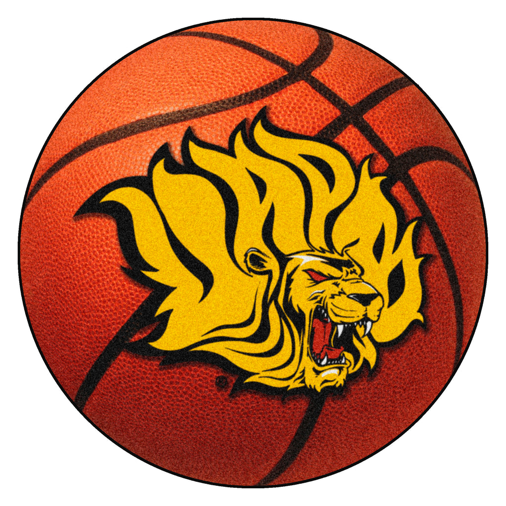 "University of Arkansas at Pine Bluff Basketball Mat 27"" diameter"