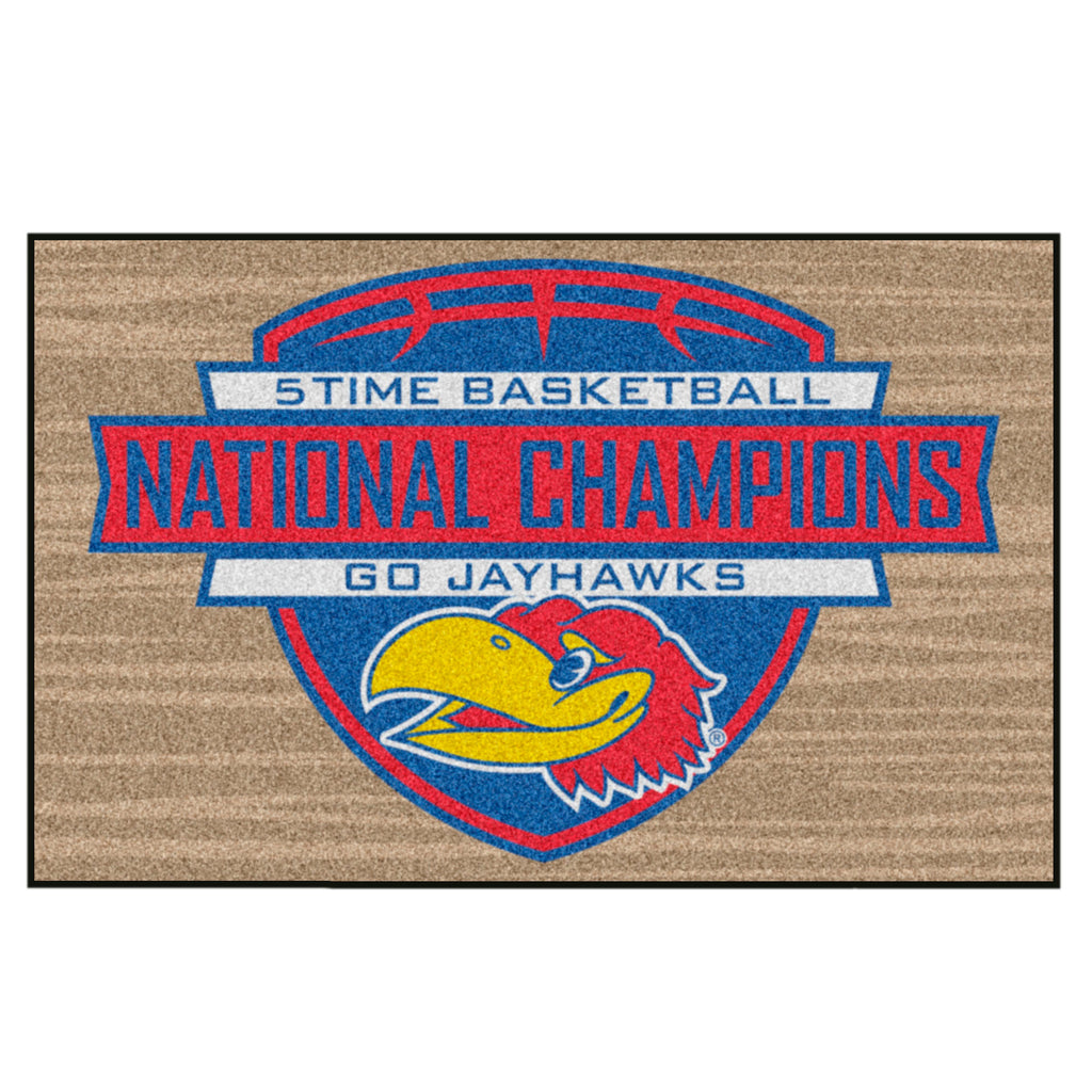 "University of Kansas Dynasty Starter Mat 19""x30"""