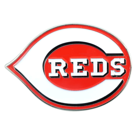 "MLB - Cincinnati Reds Color Emblem  3""x3.2"""