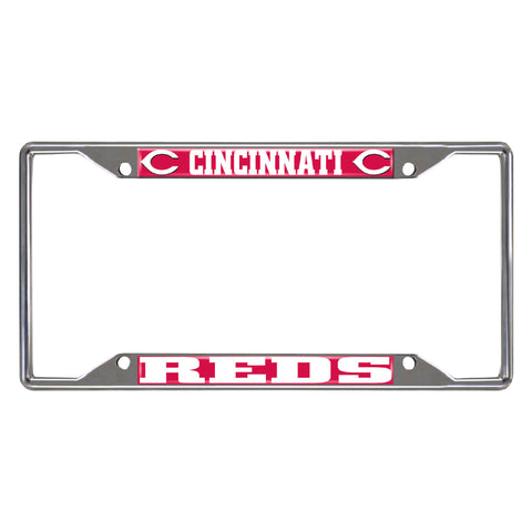 "MLB - Cincinnati Reds License Plate Frame 6.25""x12.25"""