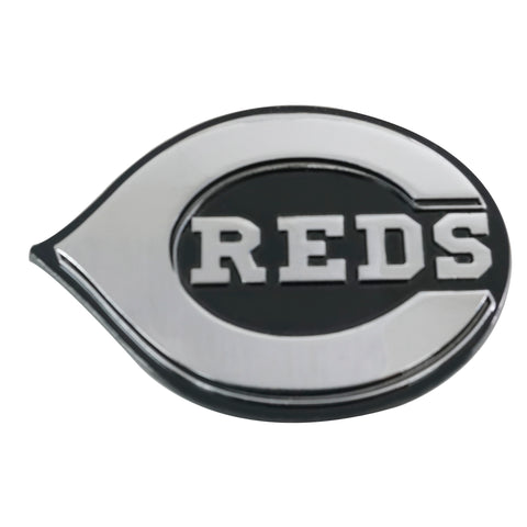 "MLB - Cincinnati Reds Chrome Emblem 3""x3.2"""