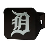 "MLB - Detroit Tigers Hitch Cover - Black 3.4""x4"""