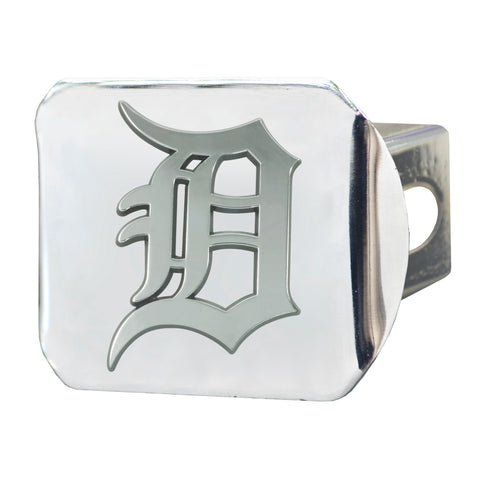 "MLB - Detroit Tigers Hitch Cover - Chrome 3.4""x4"""