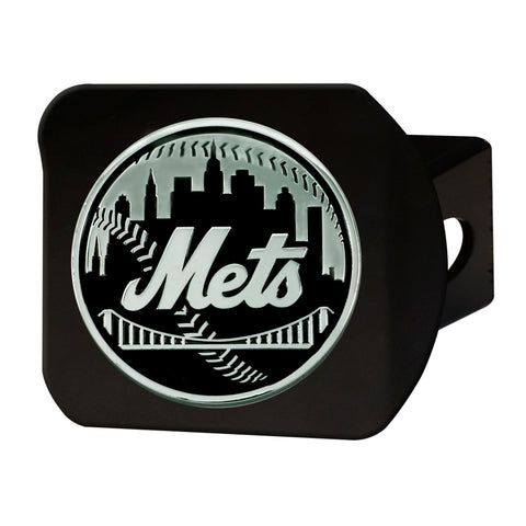 "MLB - New York Mets Hitch Cover - Black 3.4""x4"""