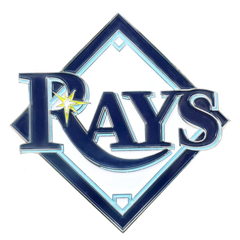 "MLB - Tampa Bay Rays Color Emblem  3""x3.2"""