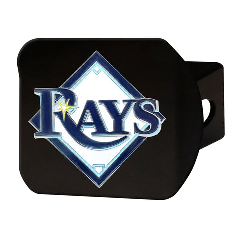 "MLB - Tampa Bay Rays Color Hitch - Black 3.4""x4"""