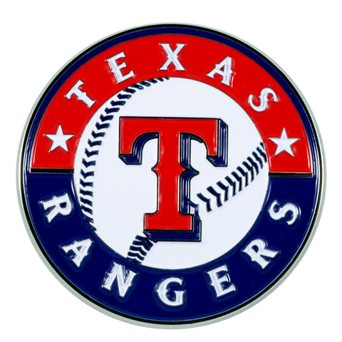 "MLB - Texas Rangers Color Emblem  3""x3.2"""