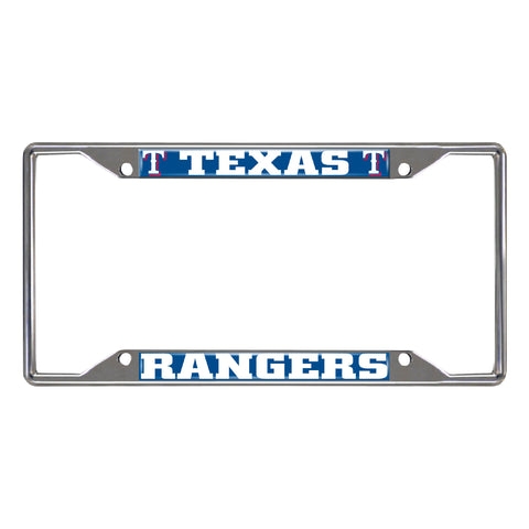 "MLB - Texas Rangers License Plate Frame 6.25""x12.25"""