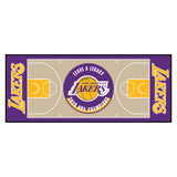 NBA - Los Angeles Lakers 2020 NBA Finals Champions NBA Court Large Runner
