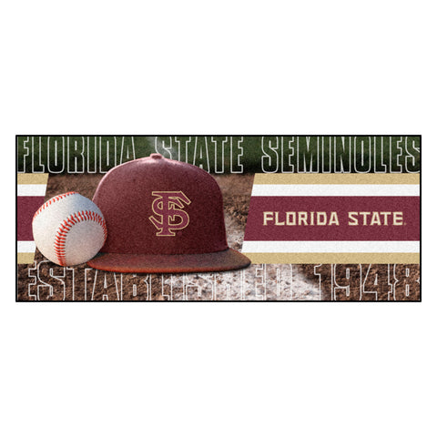 "Florida State Baseball Runner 30""x72"""