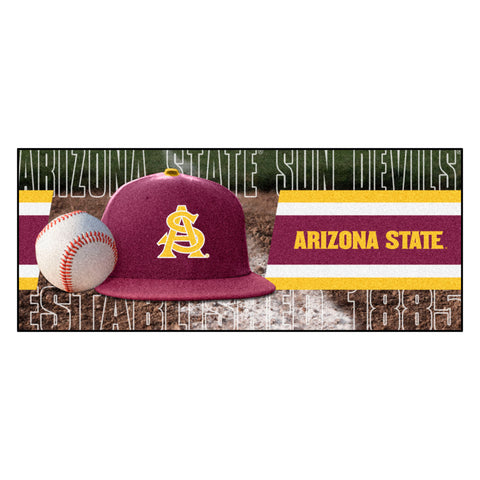 "Arizona State Baseball Runner 30""x72"""