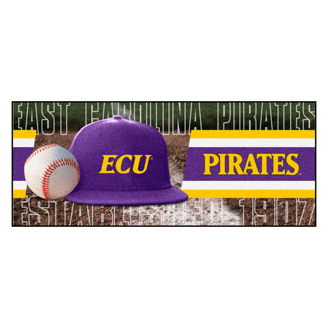 "East Carolina Baseball Runner 30""x72"""