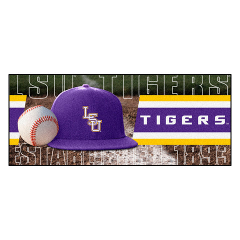 "LSU Baseball Runner 30""x72"""