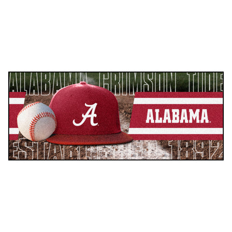 "Alabama Baseball Runner 30""x72"""