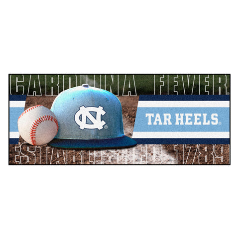 "North Carolina Baseball Runner 30""x72"""