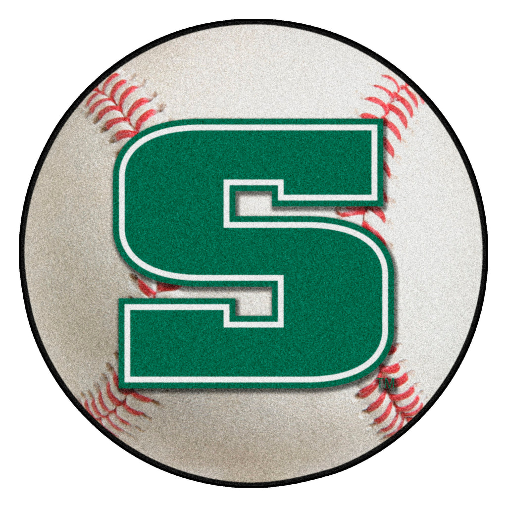 "Slippery Rock University Baseball Mat 27"" diameter"""