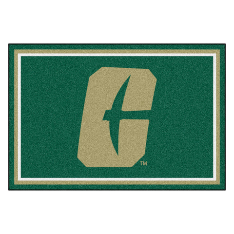 "University of North Carolina - Charlotte 5x8 Rug 59.5""x88"""