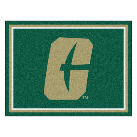 "University of North Carolina - Charlotte 8x10 Rug 87""x117"""