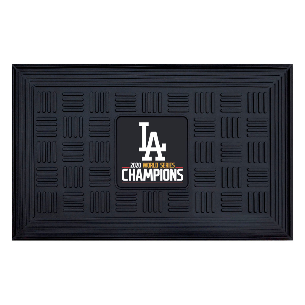 Los Angeles Dodgers 2020 MLB World Series Champions Medallion Door Mat