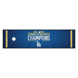 Los Angeles Dodgers 2020 MLB World Series Champions Putting Green Mat