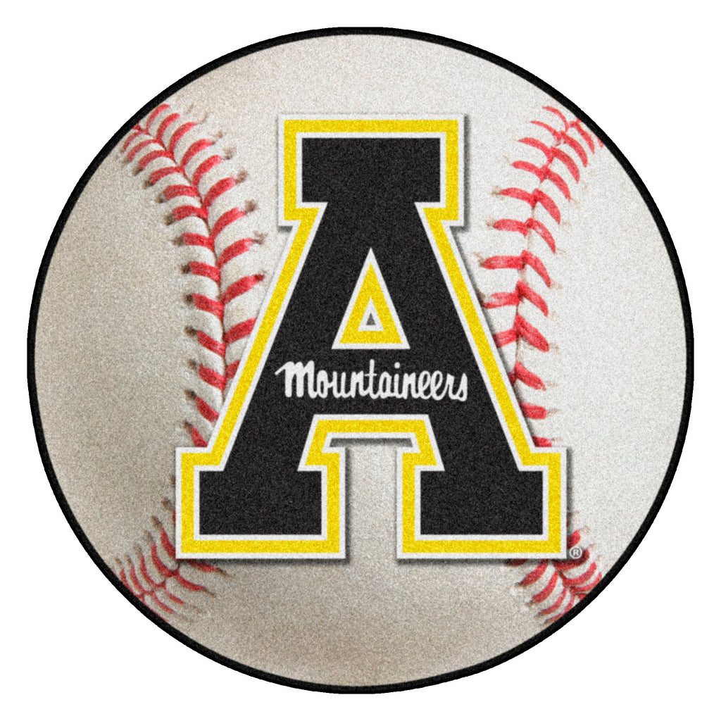 "Appalachian State University Baseball Mat 27"" diameter"