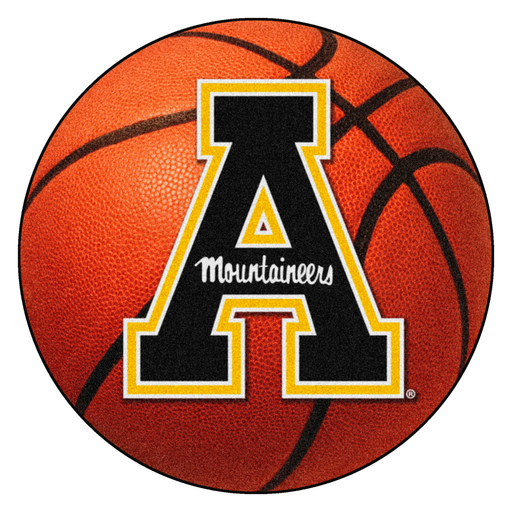 "Appalachian State University Basketball Mat 27"" diameter"