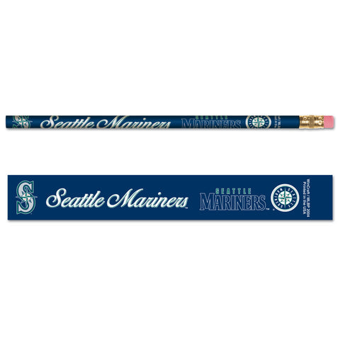 Seattle Mariners Pencil 6 Pack Special Order