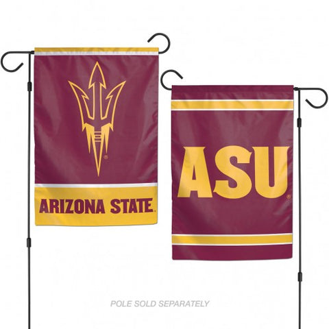 Arizona State Sun Devils Flag 12x18 Garden Style 2 Sided