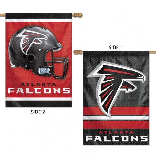 Atlanta Falcons Banner 28x40 Vertical Premium 2 Sided - Special Order