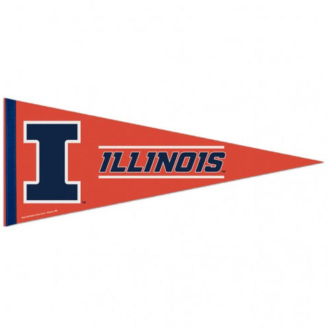 Illinois Fighting Illini Pennant 12x30 Premium Style