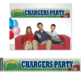 Los Angeles Chargers Banner 12x65 Party Style