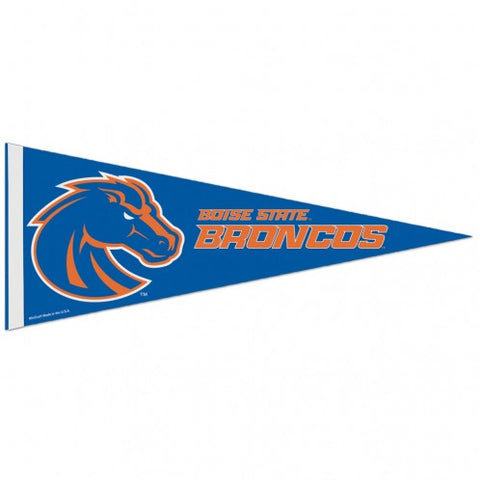 Boise State Broncos Pennant 12x30 Premium Style