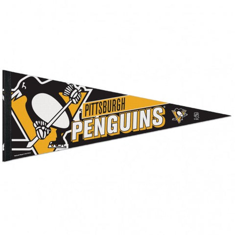 Pittsburgh Penguins Pennant 12x30 Premium Style