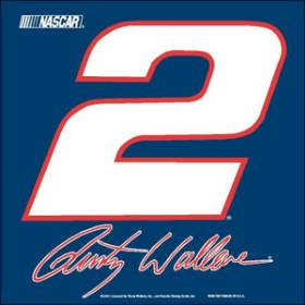 Rusty Wallace Flag Car Style